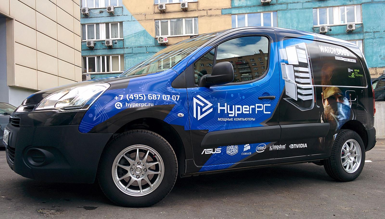 Оклейка Berlingo для HyperPC