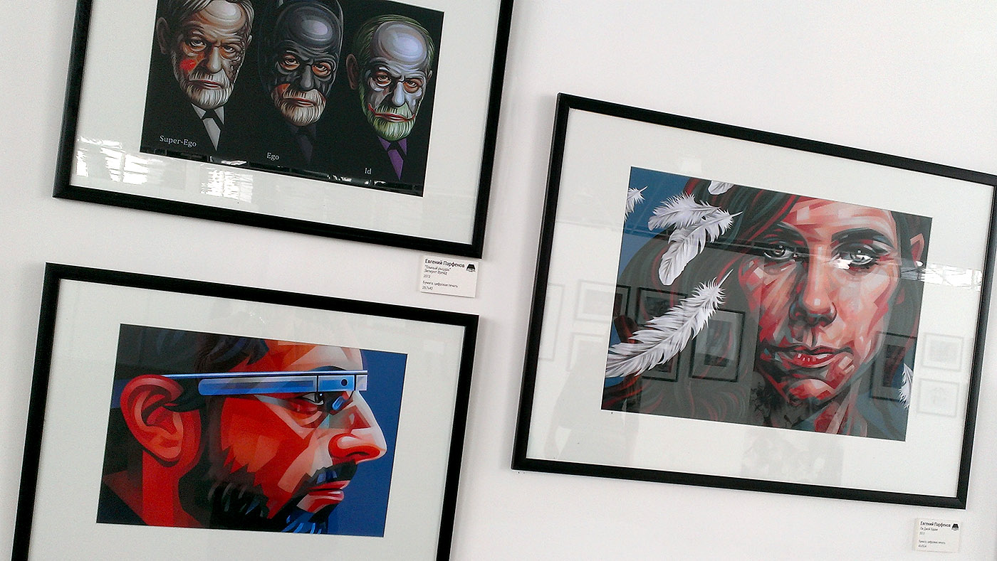 На фестивале иллюстрации и дизайна «Люстра»