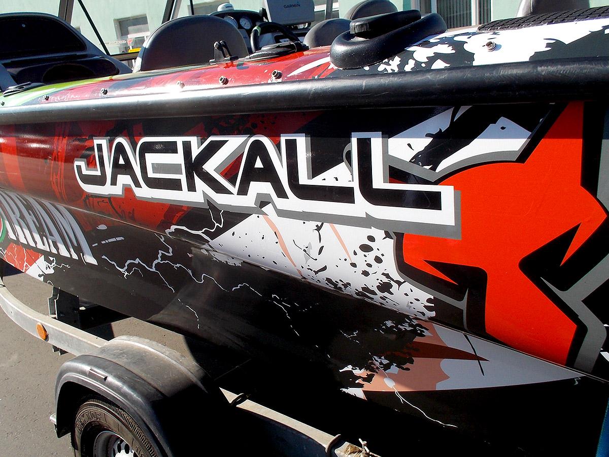Оклейка катера Tracker Tundra