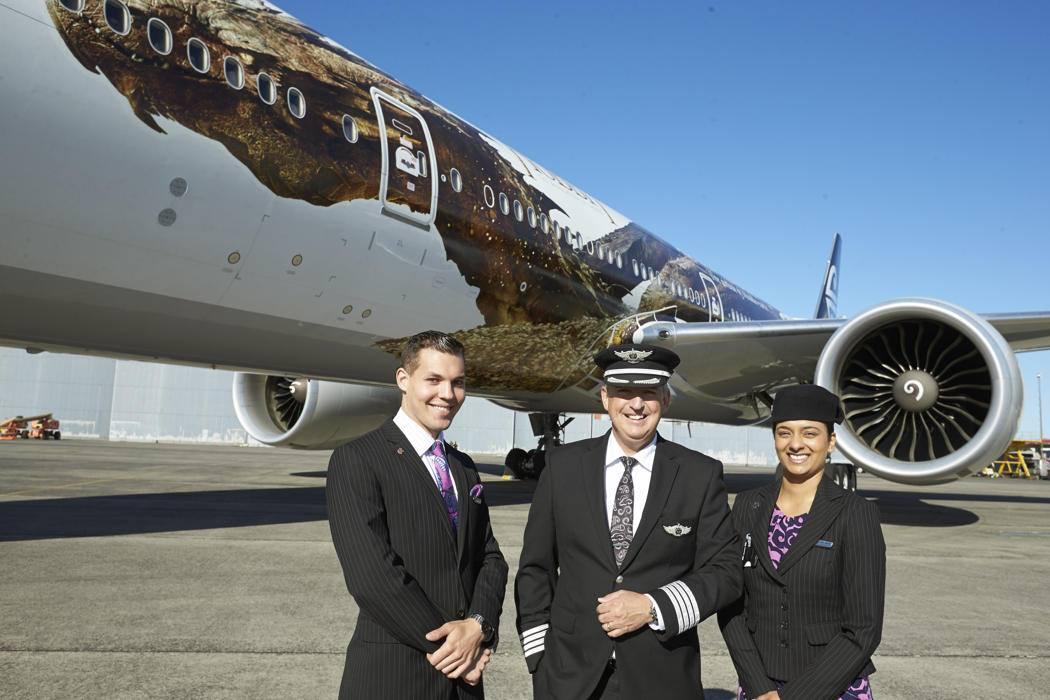 Air New Zealand — креативная компания