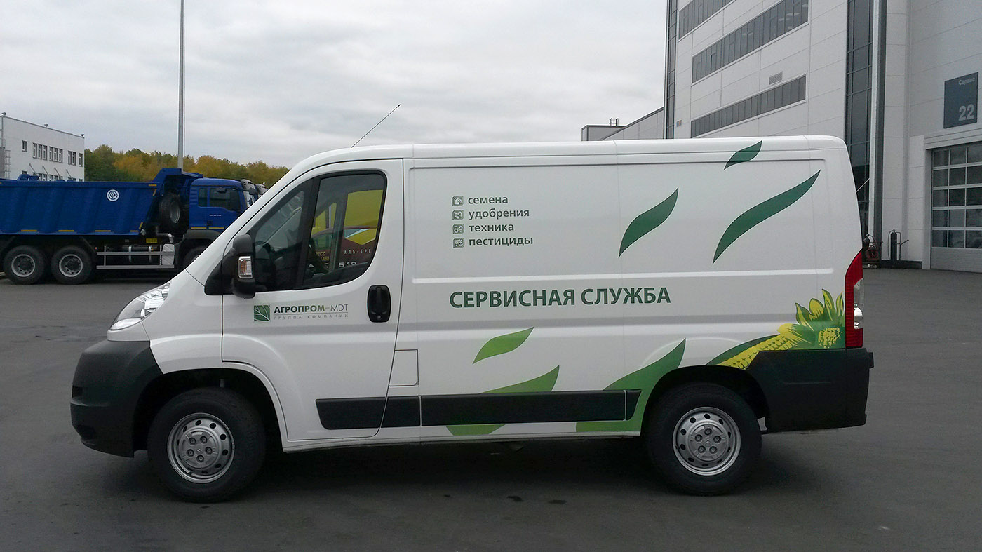 Оклейка Citroen Jumper