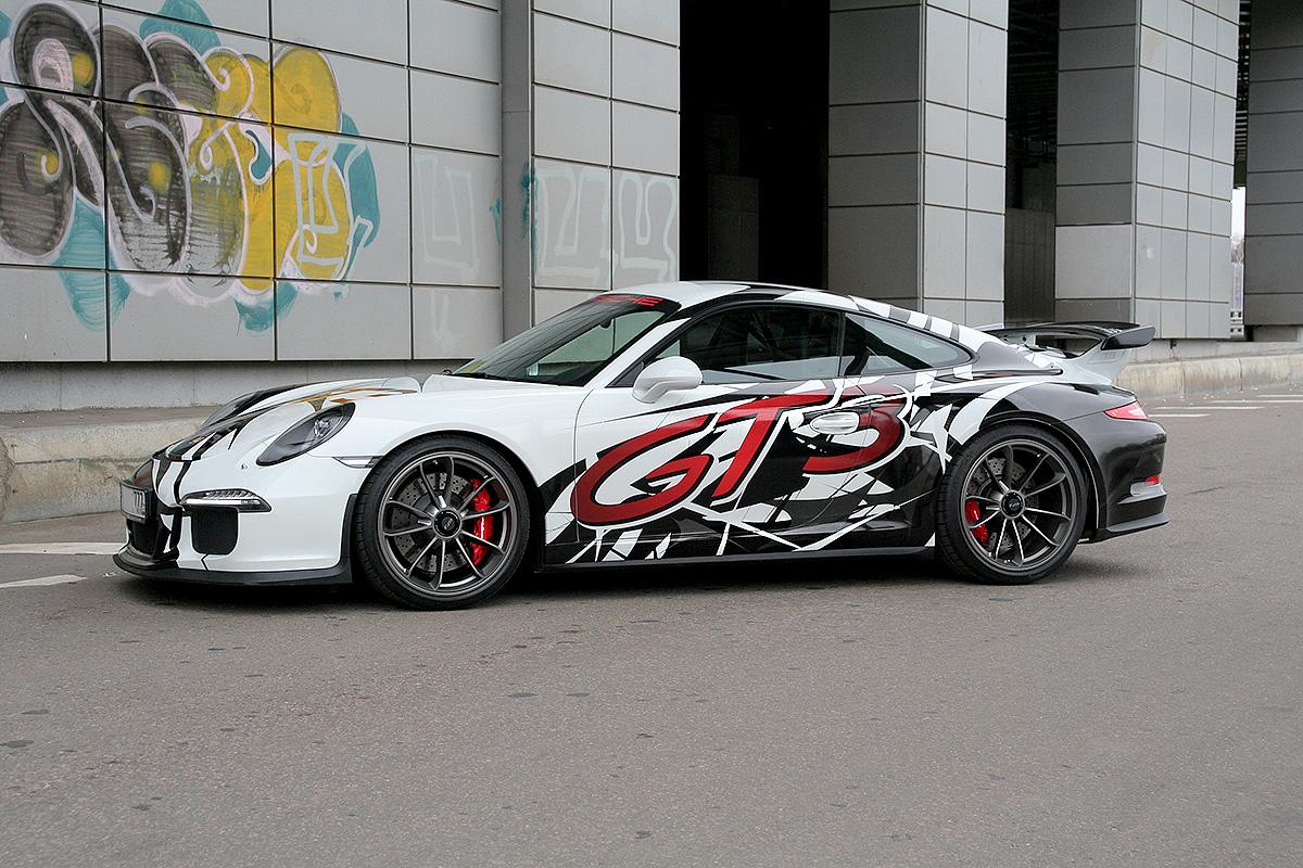 Оклейка Porsche 911 GT3
