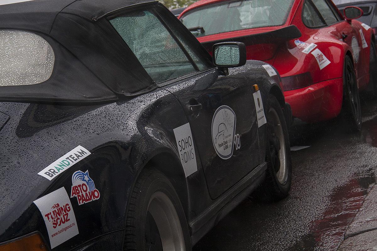 Штурманское ралли Porsche Classic Club Russland