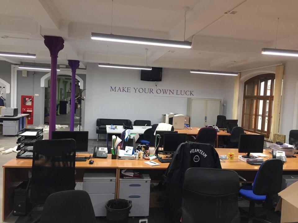 Оформление офиса международной компании